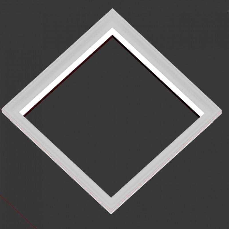 450x450线框带灯-砂白